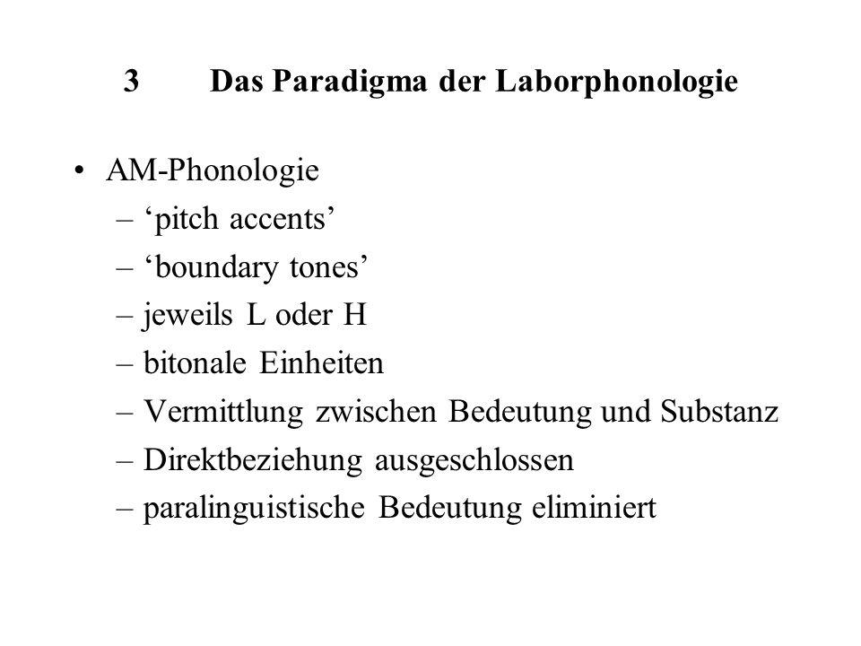 3 Das Paradigma der Laborphonologie