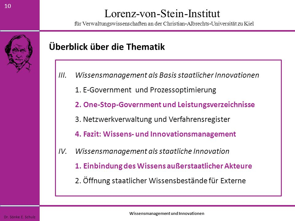 Wissensmanagement und Innovationen