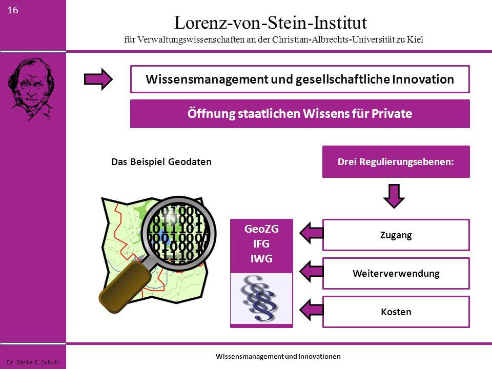Wissensmanagement und gesellschaftliche Innovation