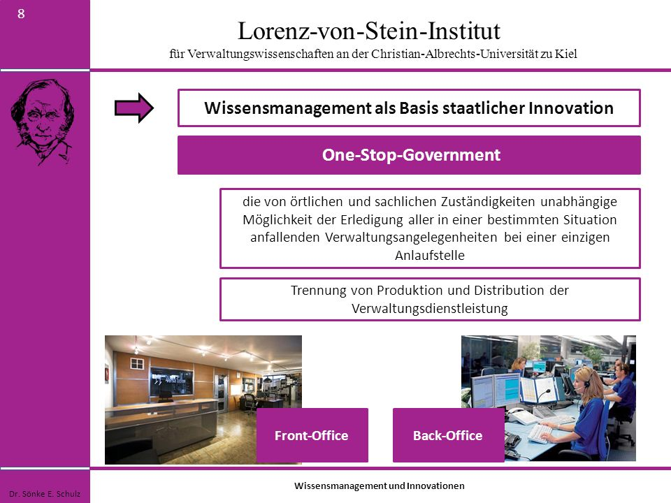 Wissensmanagement als Basis staatlicher Innovation