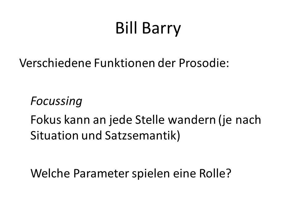 Bill Barry