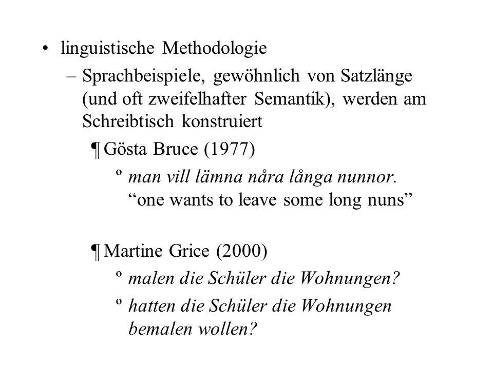 linguistische Methodologie