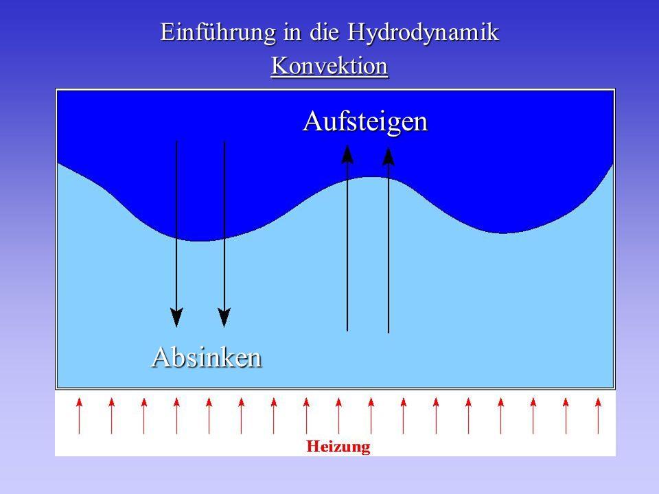 Einführung in die Hydrodynamik