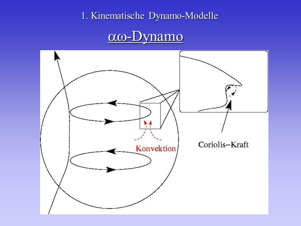 1. Kinematische Dynamo-Modelle