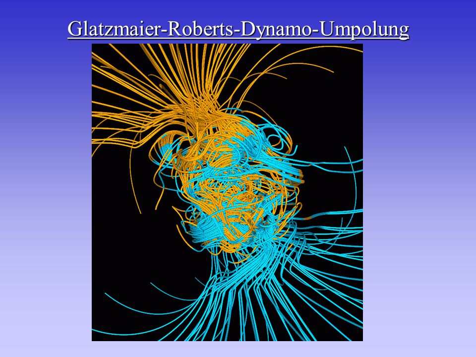 Glatzmaier-Roberts-Dynamo-Umpolung