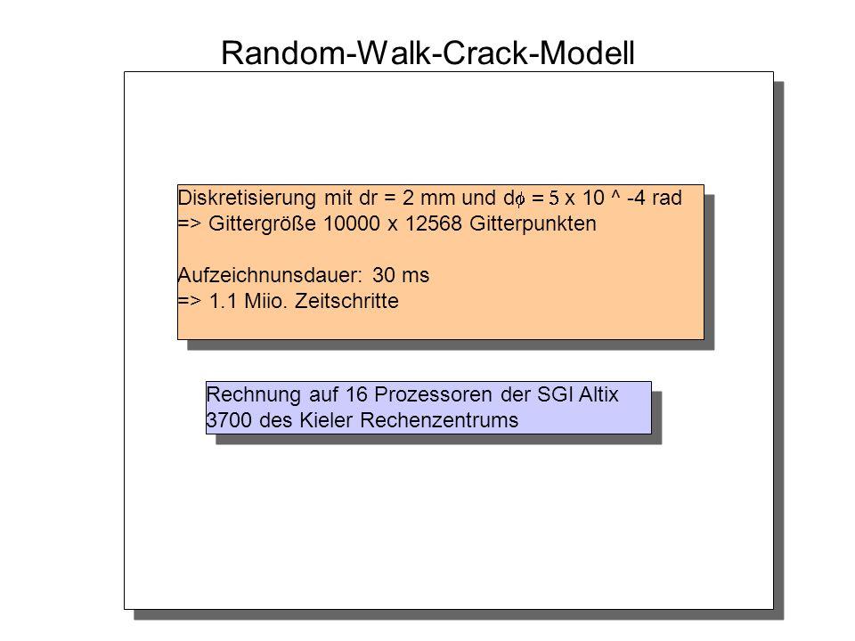 Random-Walk-Crack-Modell
