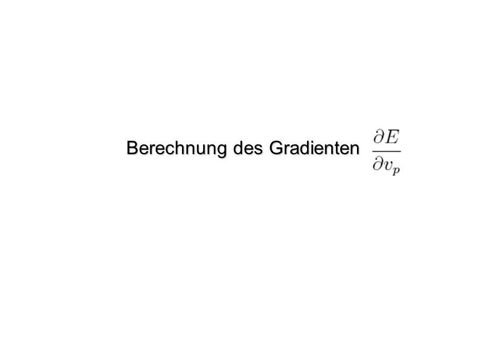 Berechnung des Gradienten