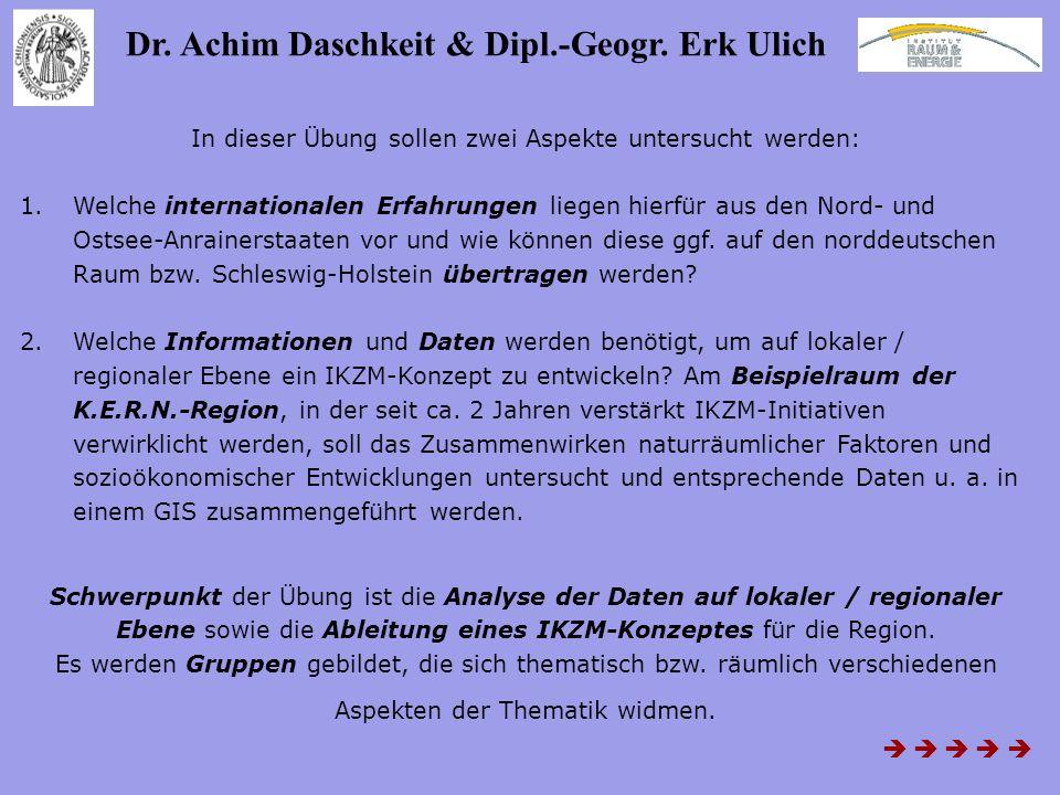 Dr. Achim Daschkeit & Dipl.-Geogr. Erk Ulich