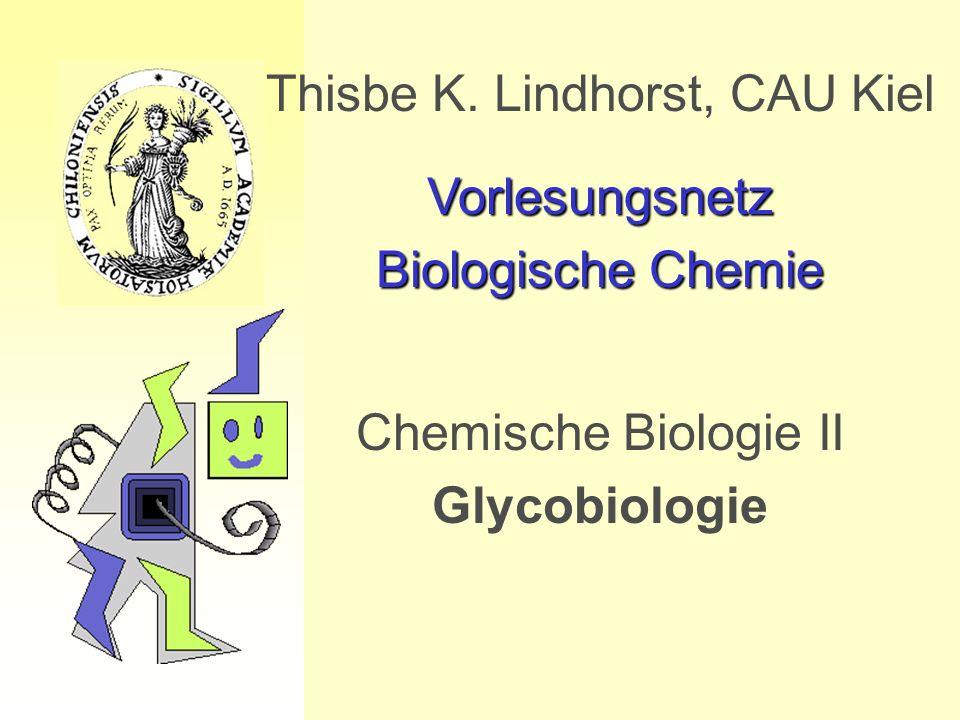 Thisbe K. Lindhorst, CAU Kiel Vorlesungsnetz Biologische Chemie