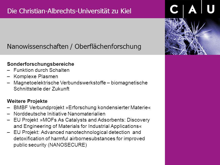 Nanowissenschaften / Oberflächenforschung
