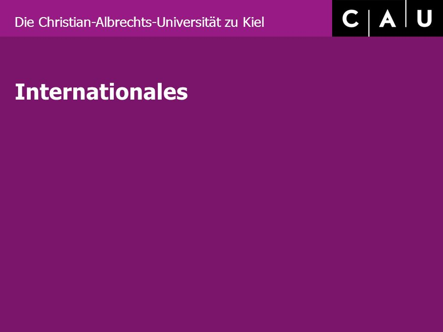 Internationales