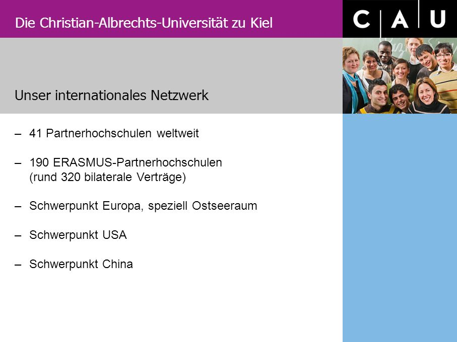 Unser internationales Netzwerk