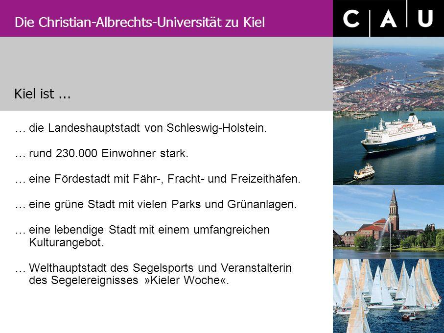Kiel ist ... die Landeshauptstadt von Schleswig-Holstein.