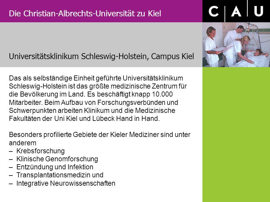 Universitätsklinikum Schleswig-Holstein, Campus Kiel