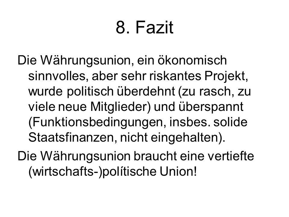 8. Fazit