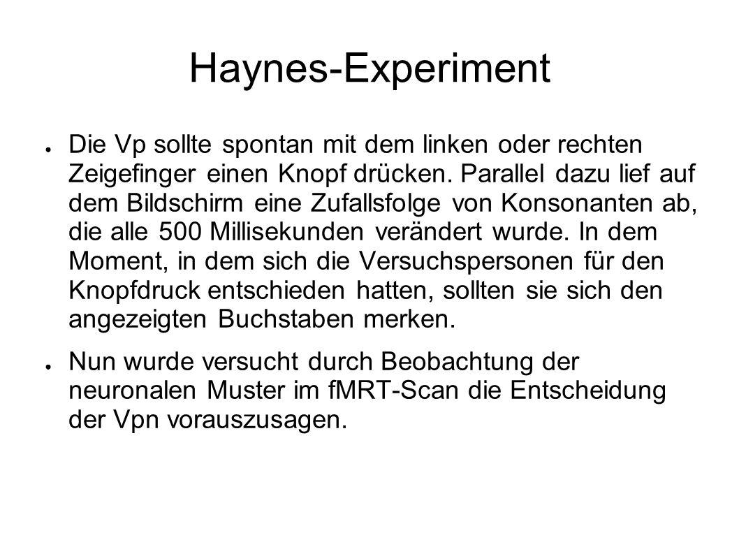 Haynes-Experiment