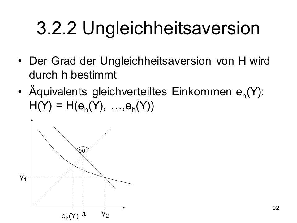3.2.2 Ungleichheitsaversion