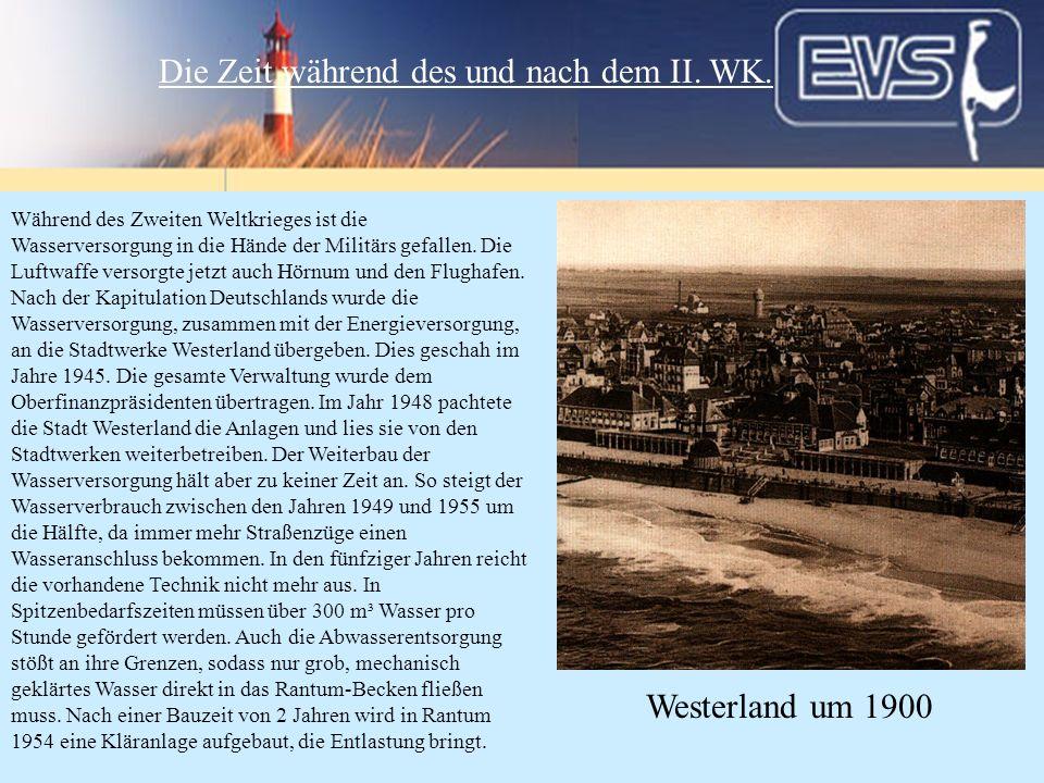 Die Zeit während des und nach dem II. WK.