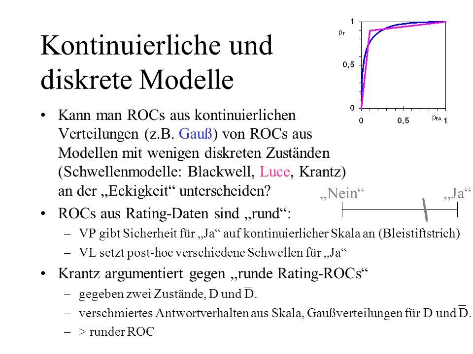 Kontinuierliche und diskrete Modelle