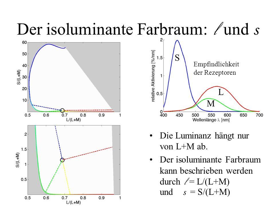 Der isoluminante Farbraum: l und s