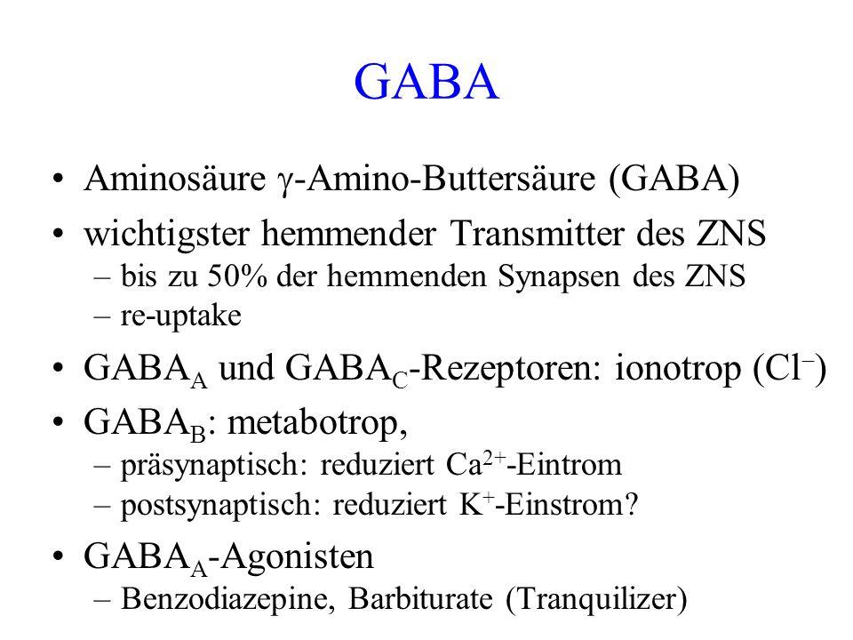 GABA Aminosäure -Amino-Buttersäure (GABA)