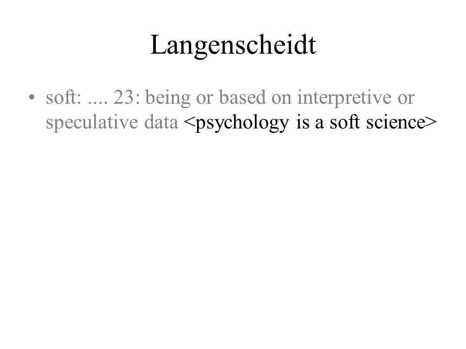 Langenscheidt soft: ....