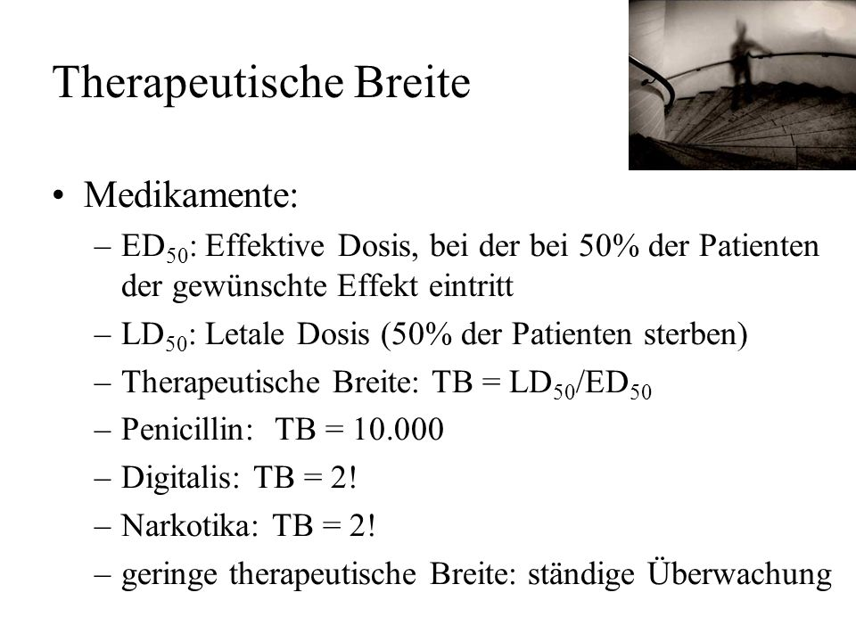 Therapeutische Breite