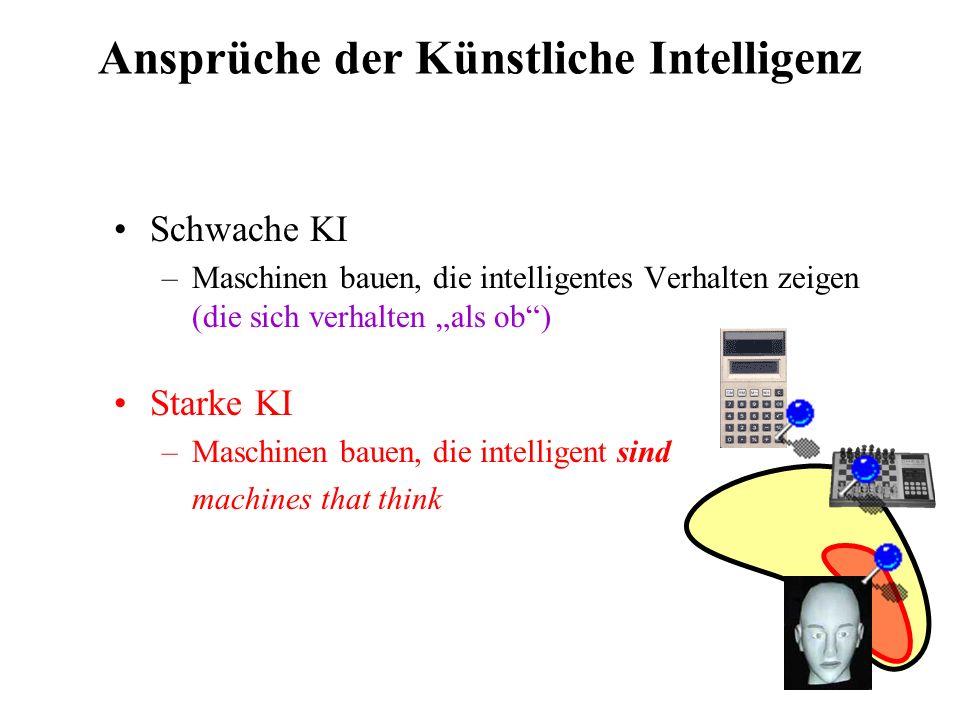 Der Turing-Test (Test schwacher KI)