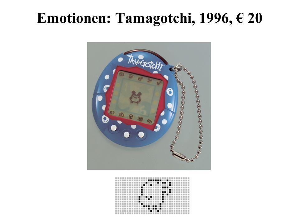 Emotionen: Tamagotchi, 1996, € 20