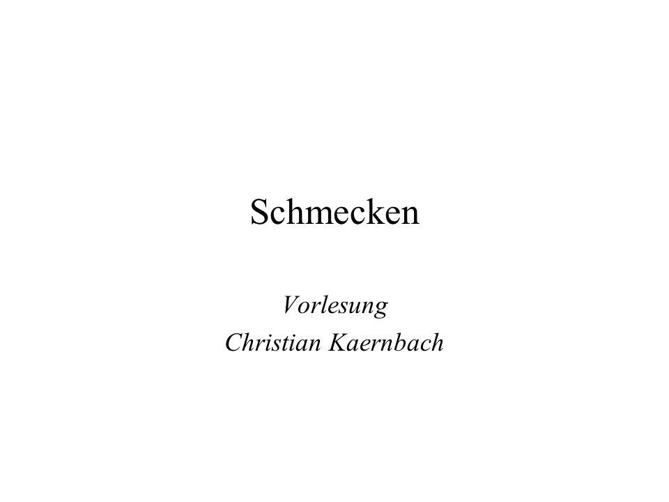 Vorlesung Christian Kaernbach