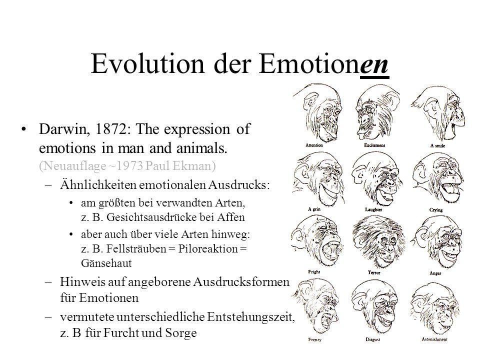 Evolution der Emotionen