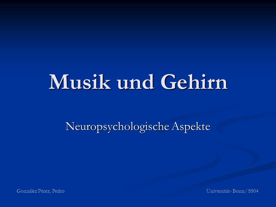 Neuropsychologische Aspekte