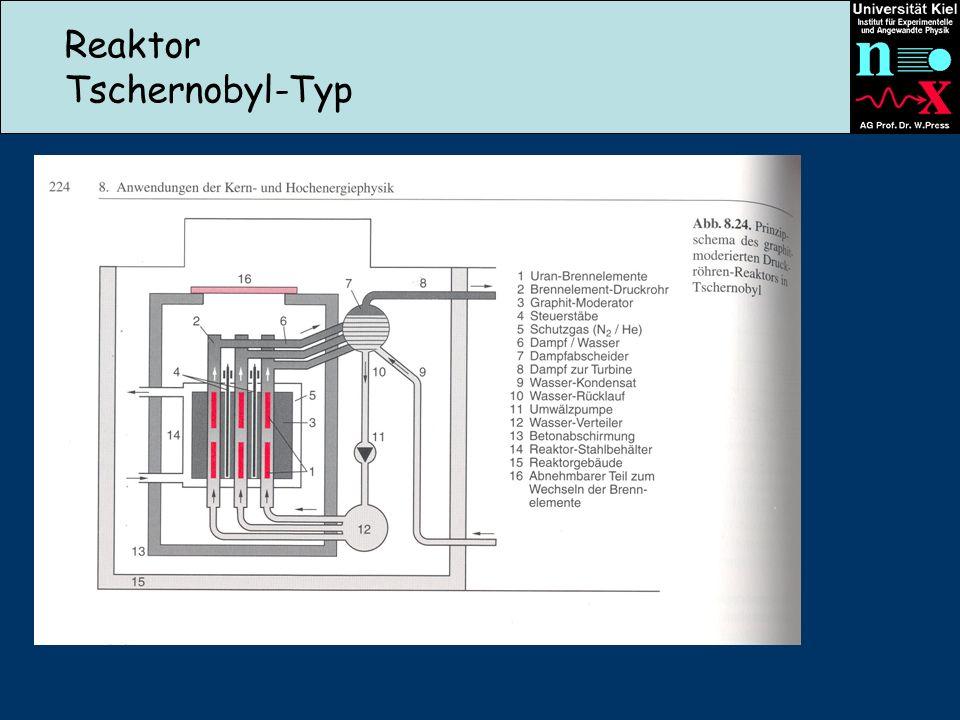 Reaktor Tschernobyl-Typ