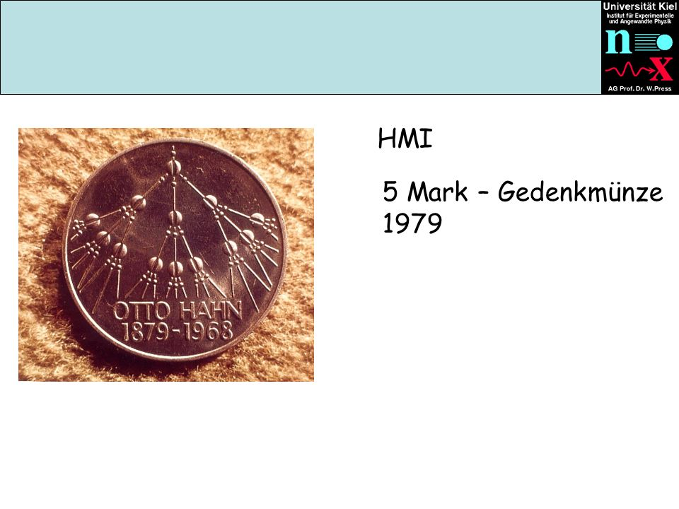HMI 5 Mark – Gedenkmünze 1979