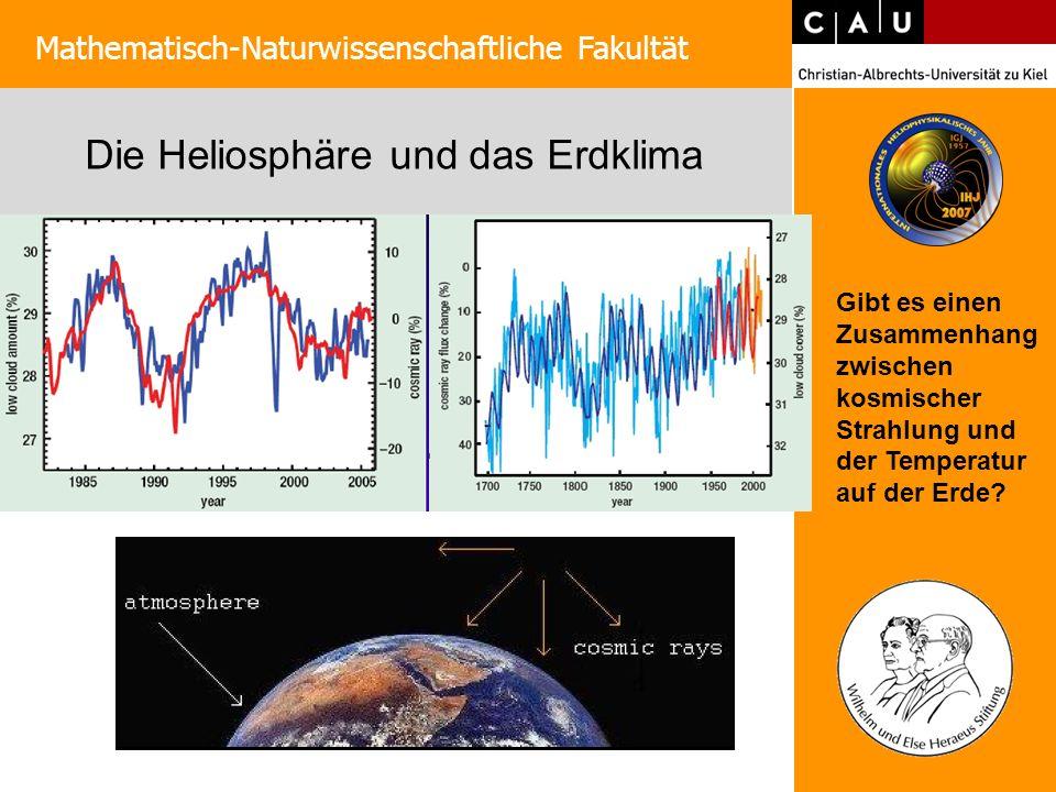 Die Heliosphäre und das Erdklima