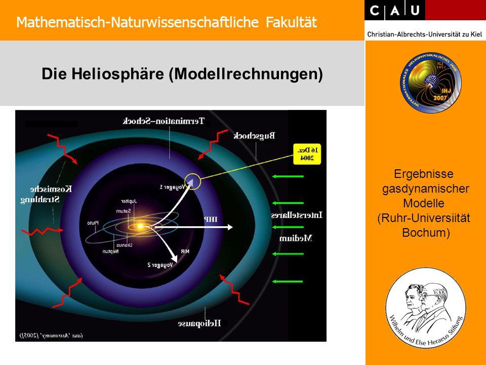 Die Heliosphäre (Modellrechnungen)