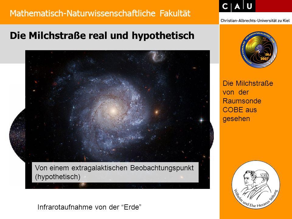 Die Milchstraße real und hypothetisch
