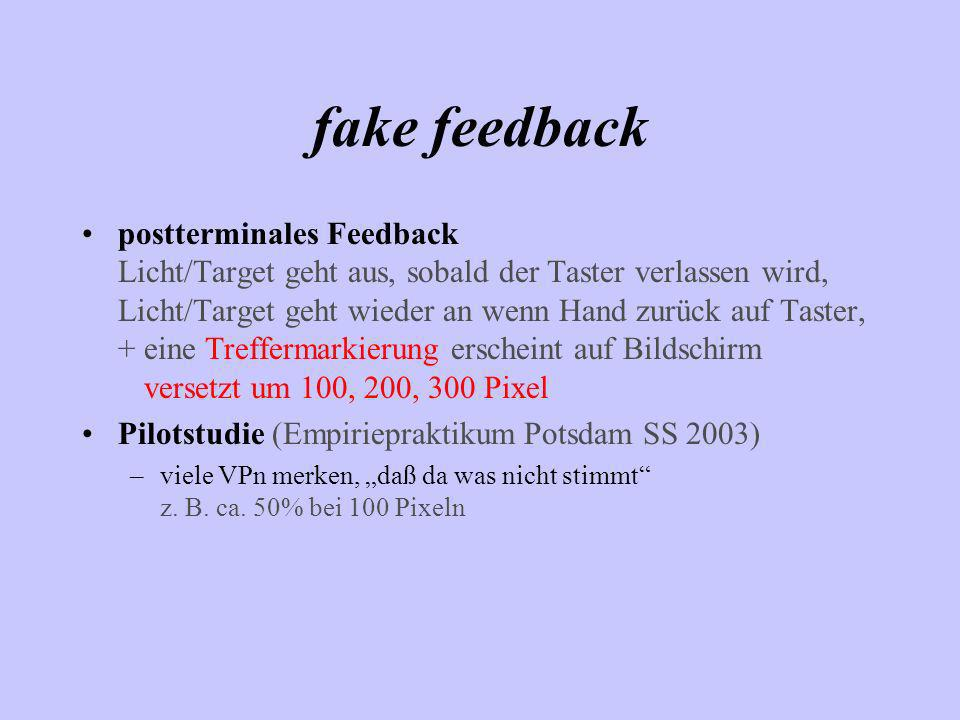 fake feedback