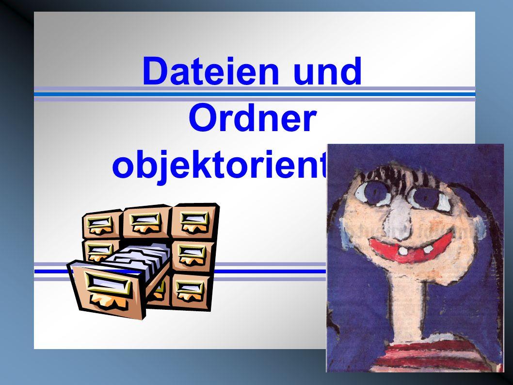 Dateien und Ordner objektorientiert