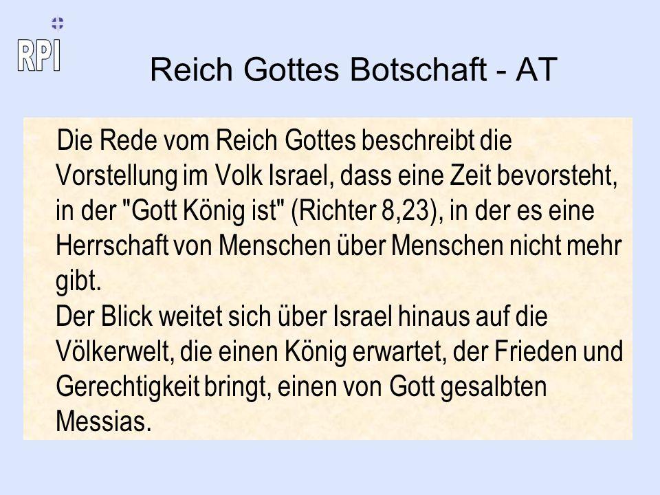 Reich Gottes Botschaft - AT