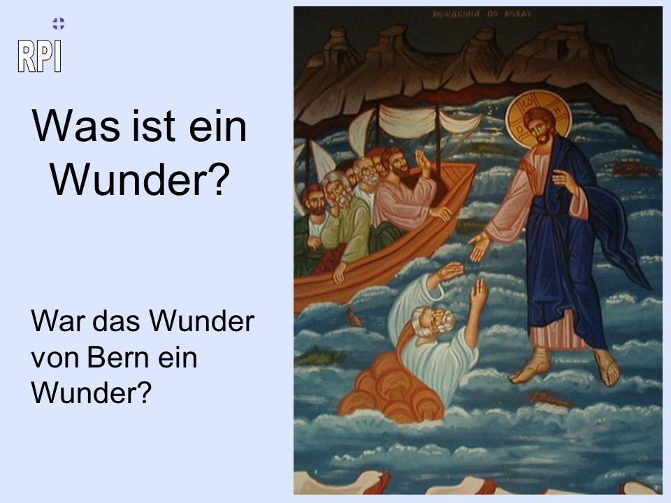 Was ist ein Wunder War das Wunder von Bern ein Wunder