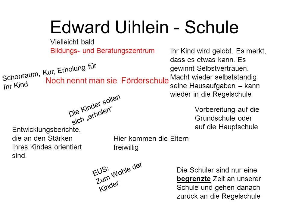 Edward Uihlein - Schule