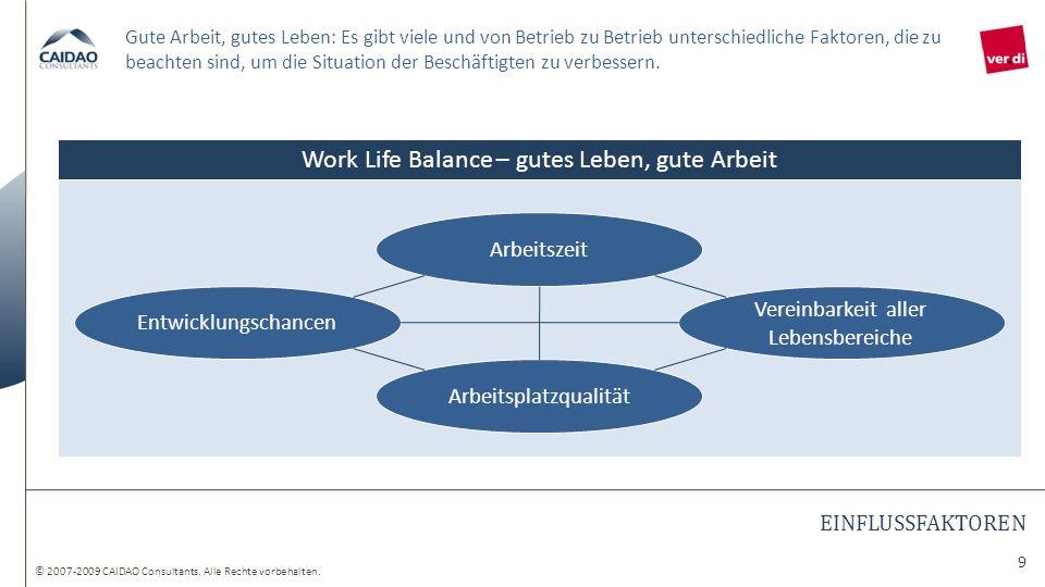 Work Life Balance – gutes Leben, gute Arbeit