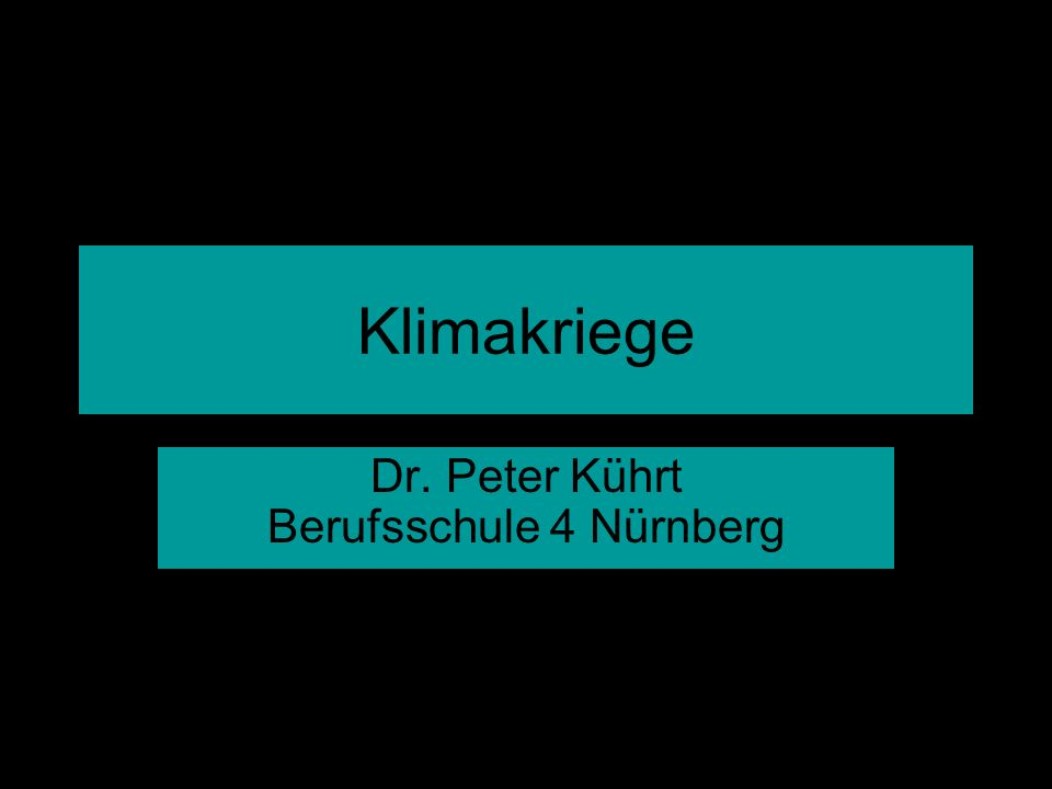 Dr. Peter Kührt Berufsschule 4 Nürnberg