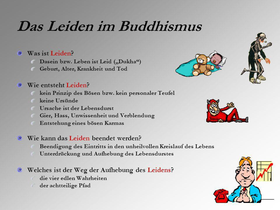 Das Leiden im Buddhismus