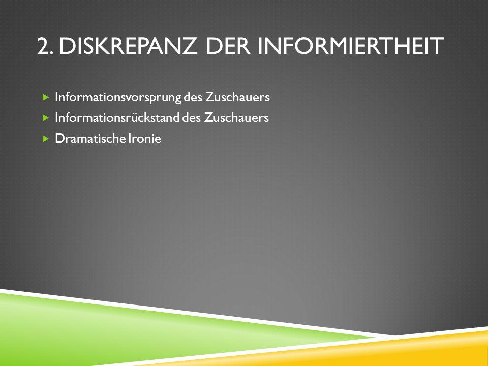 2. Diskrepanz der Informiertheit