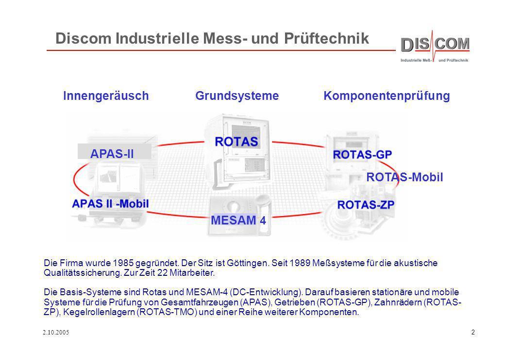 Discom Industrielle Mess- und Prüftechnik