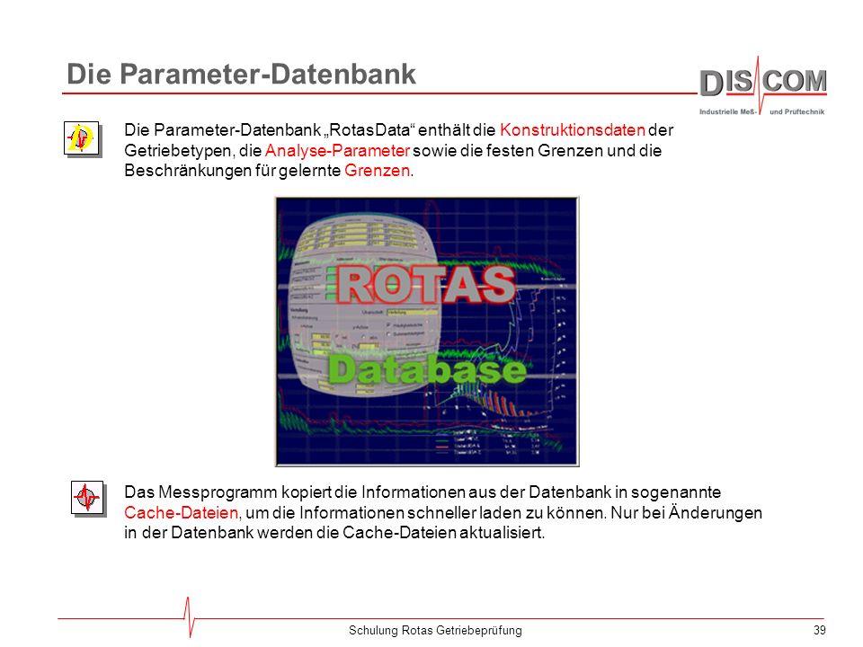 Die Parameter-Datenbank