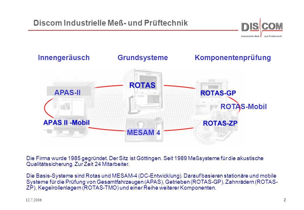 Discom Industrielle Meß- und Prüftechnik