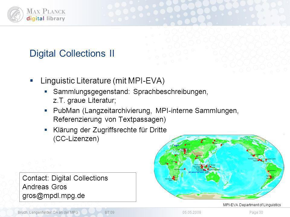 Digital Collections II